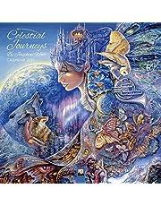 Celestial Journeys by Josephine Wall – Himmlische Reisen von Josephine Wall 2021: Original Flame Tree Publishing-Kalender [Kalender]