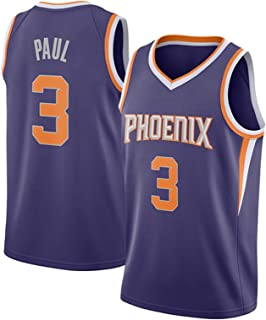 Men's Women Basketball Clothes - Breathable Embroidery Sleeveless Basketball T-Shirt 3# Paul Jerseys Vests - for Basketbal...