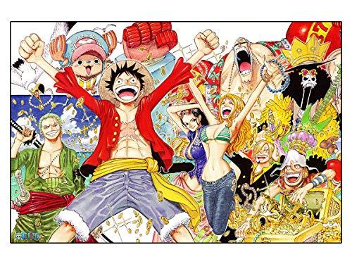CoolChange Puzle de One Piece, 1000 Piezas, Tema: El Equipaje Sombreros de Paja