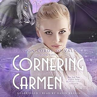 Cornering Carmen audiobook cover art