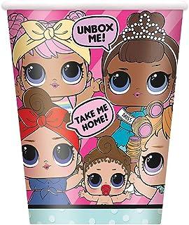 Unique Party 79116 - 9oz LOL Surprise Paper Cups, Pack of 8