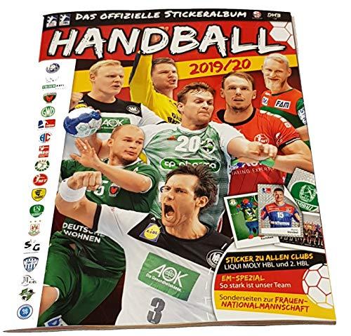 Victus Blue Ocean Handball Sticker Saison 2019/20 Stickeralbum Leeralbum