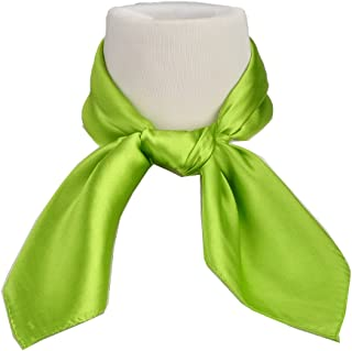 Women's Fashion Soft Satin Square Scarf Set Head Neck Multiuse Solid Colors Available