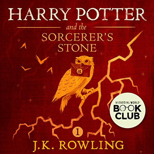 Harry Potter and the Sorcerer's Stone, Book 1 cover art