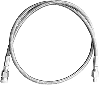 MAddog Paintball Fill Whip Hose Extension - Stainless Steel