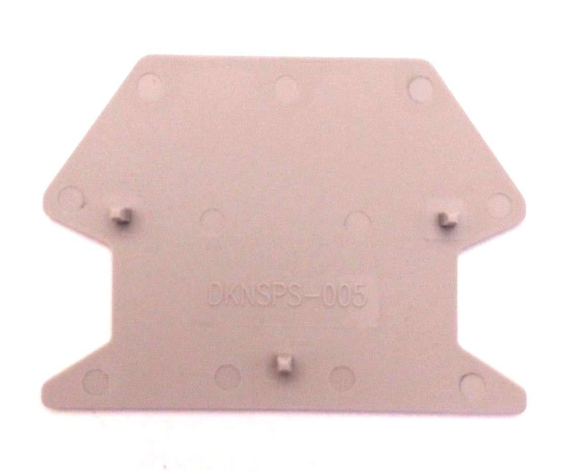 Dinkle DKNSPS-005 DIN Rail Terminal Limited price sale 50 of Partition Superior Block Pack