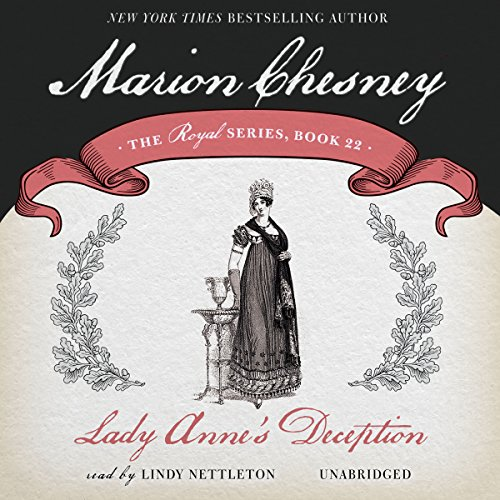 Lady Anne's Deception audiobook cover art