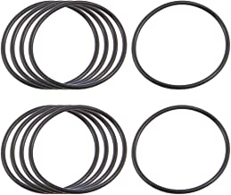 10 x Black Nitrile Rubber O Ring Grommets Seal 36mm x 40mm x 2mm