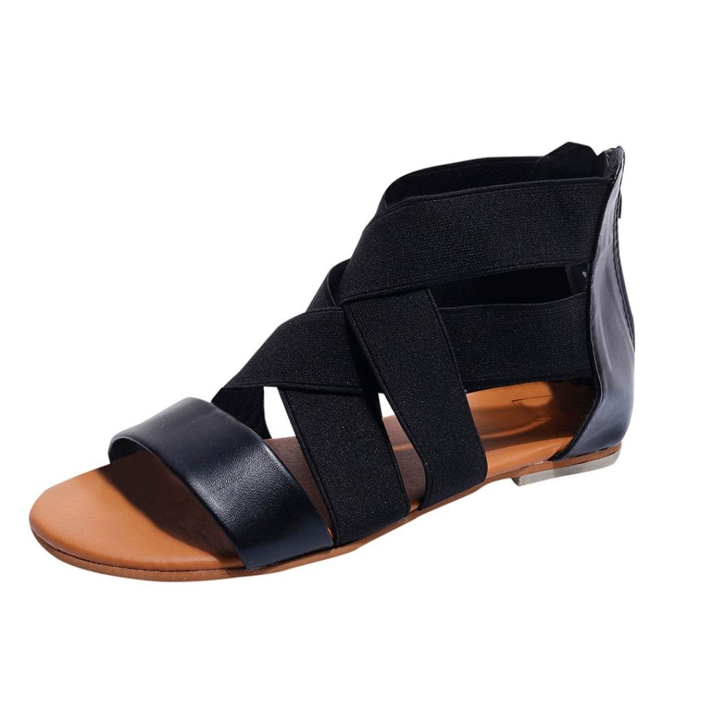 Lolittas Leather Gladiator Sandals for