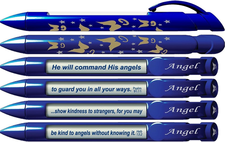 36014 Schreibstifte Engel  Schrift Stifte Schrift Vers mit rotierenden rotierenden rotierenden Nachrichten, 6 Stifte Set B0021AEMGA   Exquisite Handwerkskunst  b028bd