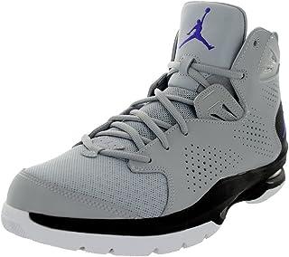Jordan Nike Men's Ace 23 II Wolf Grey/Drk Concord/Blck/Wht Basketball Shoe 11 Men US
