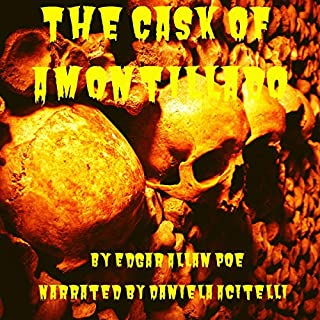 The Cask of Amontillado cover art