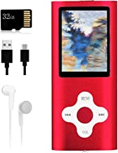 $20 » Mp3 Player,Music Player with a 32 GB Memory Card Portable Digital Music Player/Video/Voice Record/FM Radio/E-Book Reader/P...
