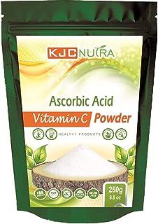 Vitamin C Powder 250 g (8.8 oz) Acid ASCORBIC. KJC NUTRA