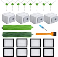 21 Pack Replacement Parts for IRobot Roomba I7 I7+ I7 Plus E5 E6 E7 Series Vacuum Cleaner Accessories Kit with 1 Set Multi...