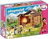 Playmobil- Heidi Establo de Cabras de Pedr Set Juguetes, Multicolor (70255)