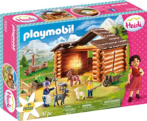 Playmobil 70255 Heidi - Peter's Goat Stable - New 2019