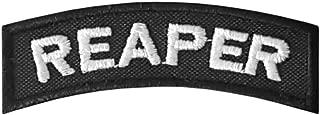 LEGEEON Reaper Tab Badge US Army Tactical Morale Hook&Loop Patch
