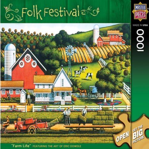 Puzzle 1.000 Teile Leben auf dem Bauernhof 70907 von MasterPieces