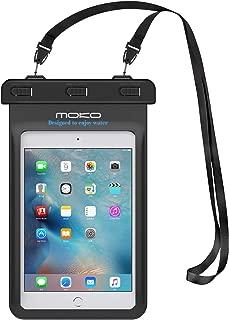 MoKo Universal Waterproof Case, Dry Bag Pouch for iPad Mini 2019/4/3/2, Samsung Tab 5/4/3, Galaxy Note 8, Tab S2/Tab E/Tab A 8.0, LG G Pad III 8.0, Google Nexus 7(FHD) & More Up to 8.3