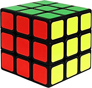 JAYKIDS Speed Cube 3x3 Magic Cube Smooth Puzzle Brain Teaser, Cube Toys for 6 7 8 + Years Old Boys Kids & Adults
