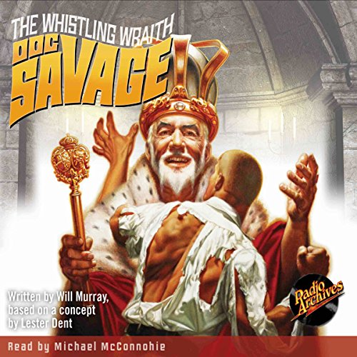 Doc Savage #8: The Whistling Wraith audiobook cover art