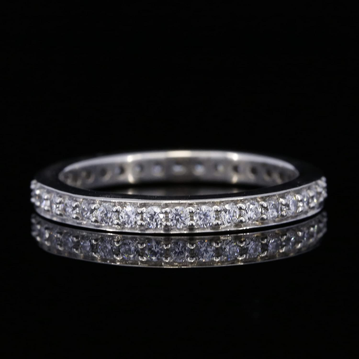 Austin Mall Facets Jewels Wedding Ring Guard Anniversary Enhancer ! Super beauty product restock quality top! Band Forev