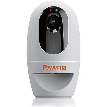 Pawbo Wi-Fi Pet Camera, 720P Interactive Wireless Pet Treat Cam & Treat Dispenser