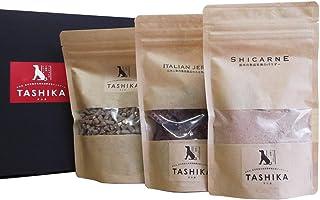 多可の無添加ドッグフード TASHIKAセットB (鹿肉ドライフード、シカルネ、ジャーキー(背肉)) 一般食 最高級ペットフード