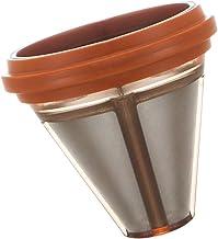 Slät kaffebryggare filter nät rostfritt stål återanvändbar konpress, för diameter 6,7–7,5 cm infusionsanordning, bryggkorg...
