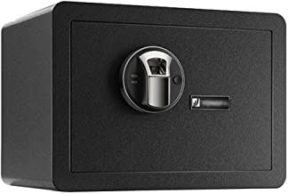 JBAMQ Fireproof Safe and Waterproof Safe with Dial Combination Box Hotel Valuables Safe Deposit Box Solid Lock Bolt Can En...