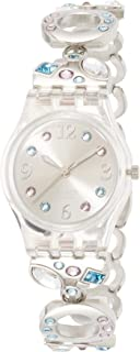 Women's Menthol Tone LK292G Silver Stainless Steel Swiss Quartz with Silver Dial