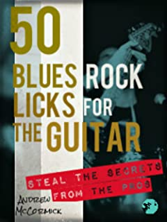 50 Blues Rock Licks for the Guitar