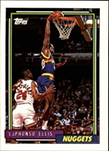 1992-93 Topps Basketball #319 LaPhonso Ellis RC Rookie Denver Nuggets Official NBA Trading Card