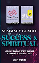 Summary Bundle: Success & Spiritual: Includes Summary of Give and Take & Summary of God is Not Great