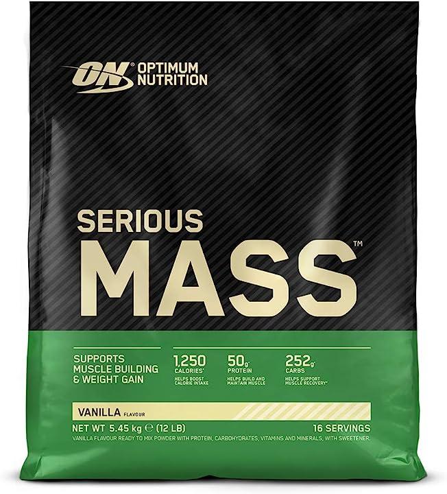 Proteine - whey in polvere per aumentare la massa muscolare con creatina, glutammina e vitamine - vaniglia 1031920