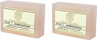 Khadi Natural Sandalwood Soap, 125g (Pack of 2)