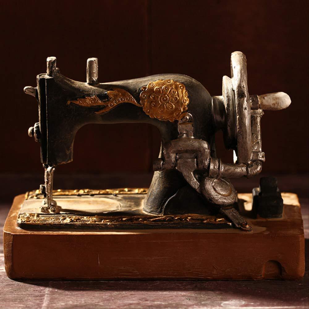 WGLG Escultura Home Deco Retro Vintage Old Máquina de Coser ...