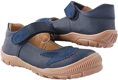 حذاء بنات كاجوال جلد كحلى