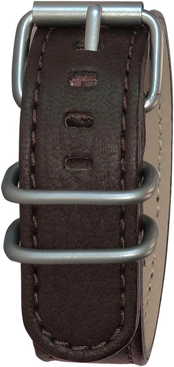 Bertucci Mens G-Type Scoria gift Brown Matte Leather Elk Wholesale Strap Wapiti