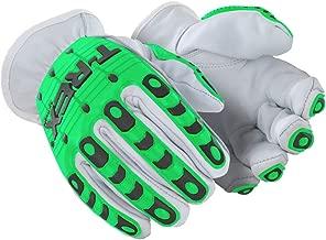 MAGID TRX800XL Rebel Series   Cut Level A1 Slip-on Leather Impact Driver Gloves, Size 10/XL, (1 Pair)