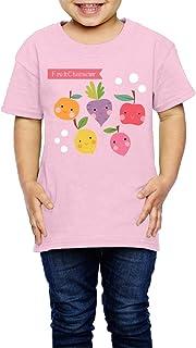 フルーツ セット 子供服 キッズ 半袖 Tシャツ 綿100% 5-6 Toddler