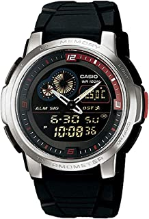 Casio AQF-102W-1B For Men-Analog-Digital, Sport Watch
