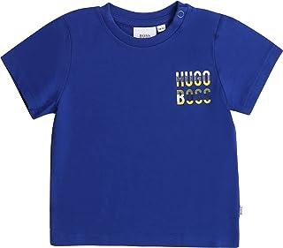 BOSS T-Shirt en Coton à Pressions Layette