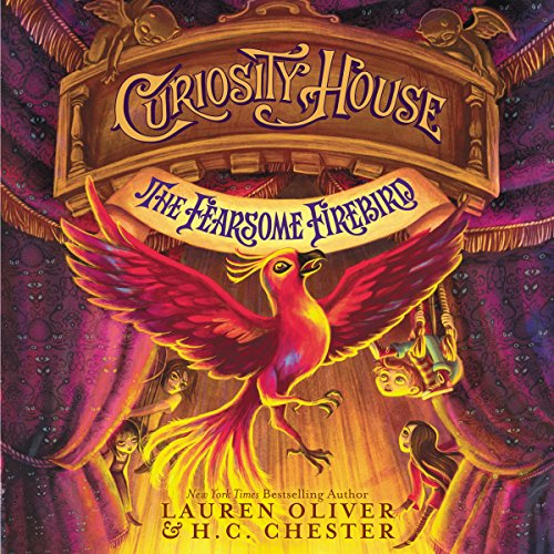 Curiosity House: The Fearsome Firebird audiobook cover art