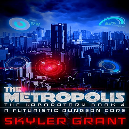 The Metropolis audiobook cover art