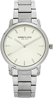 Kenneth Cole Women's Silver Dial Stainless Steel Band Watch - KC10031692