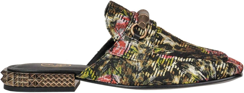 Ash Women's MCGLCAB000005085E Multicolor Fabric Loafers