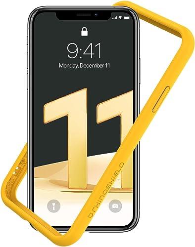 RhinoShield Bumper Case Compatible with [iPhone 11 / XR] | CrashGuard NX - Shock Absorbent Slim Design Protective Cov...