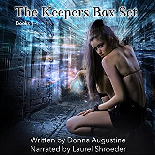 The Keepers Box Set     Alchemy Series, Books 1-4              Written by:                                                                                                                                 Donna Augustine                               Narrated by:                                                                                                                                 Laurel Schroeder                      Length: 25 hrs and 18 mins     2 ratings     Overall 4.5